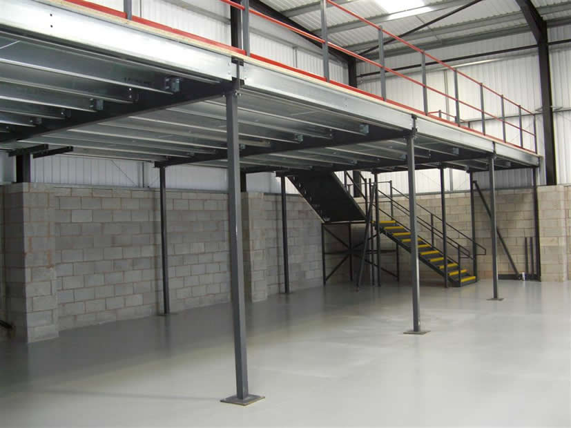 The warehouse need for mezzanine floors