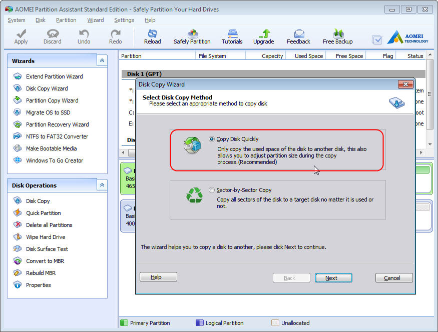 disk cloing software