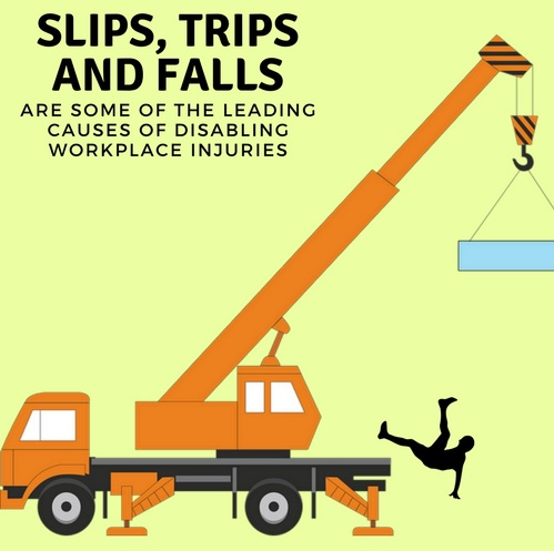 Trips slips and falls