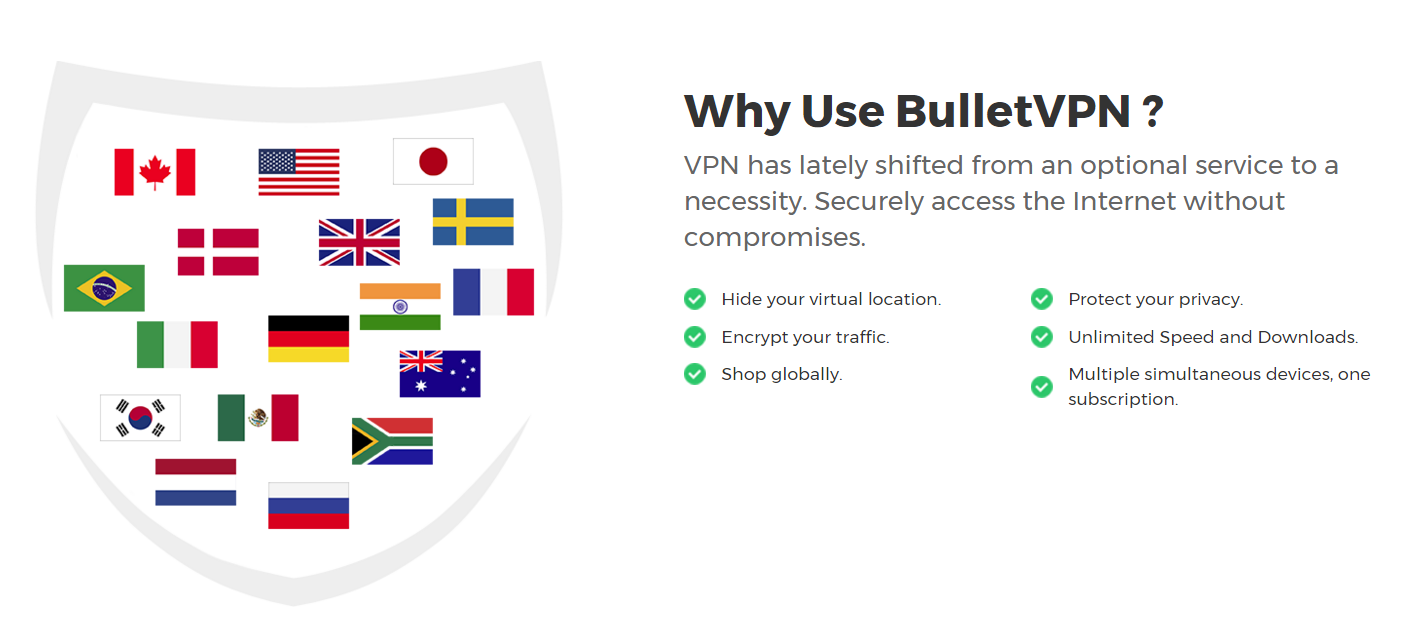 why use BulletVPN