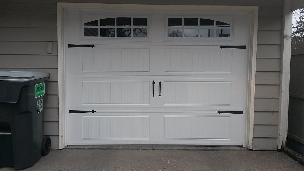 window and door garage