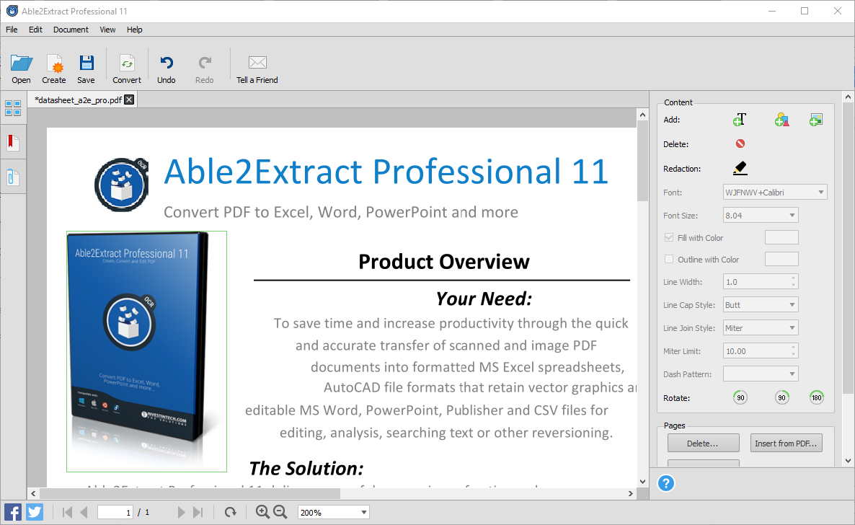 Move PDF Content
