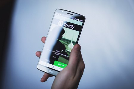 Spotify on Smartphone