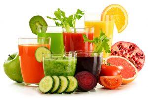 fresh organic vegetable and fruit
