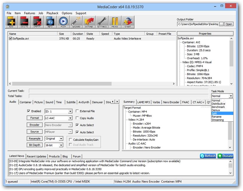 MediaCoder video converters