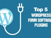 The Top 5 WordPress Form Software Plugins On The Market