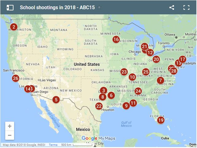 The Bleak Picture: What Stats Say about Gun Violence in U.S. Schools
