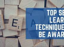 Top SEVEN Learning Techniques to Be Aware Of