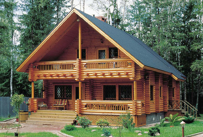 The Advantages of Log Houses