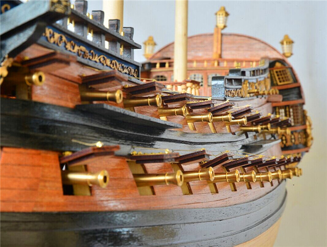 The History of Wooden Model Ship Building