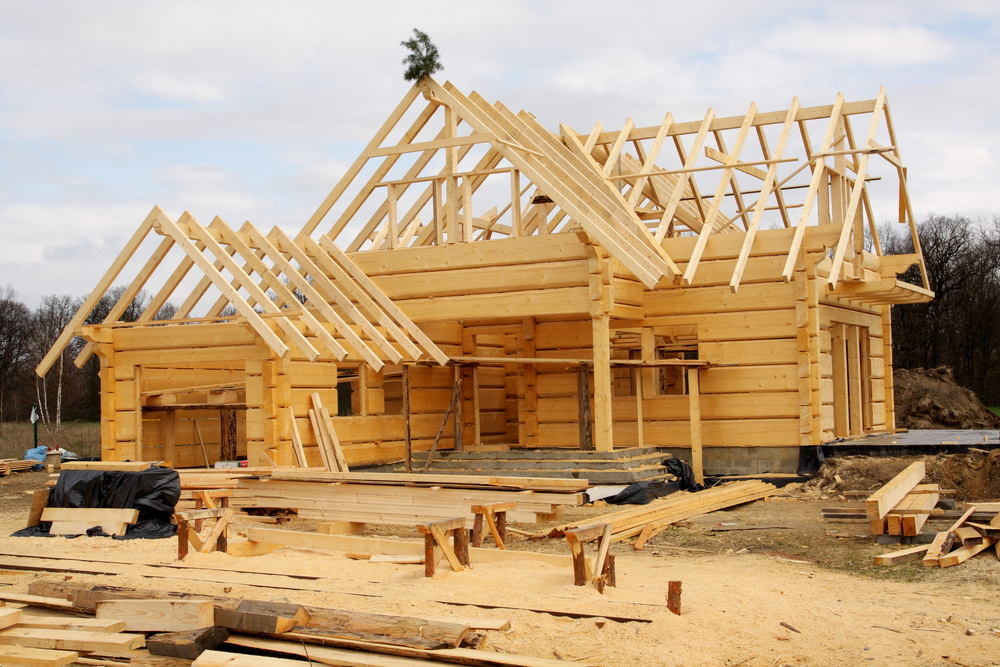 The building process of a new house in pennsylvania for Process for building a house