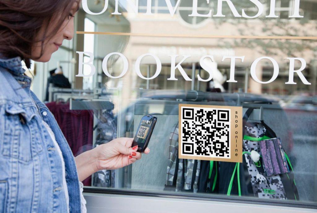QR Code at retail