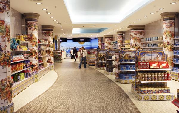 walk through at retail store
