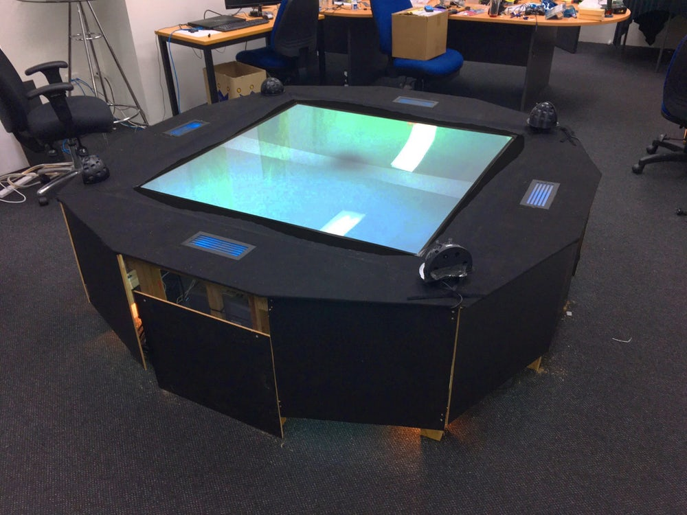 Euclideon's holographic table top