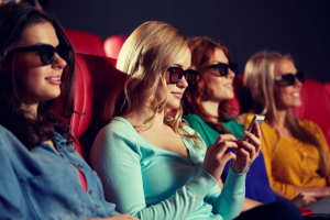 Social in movie theater