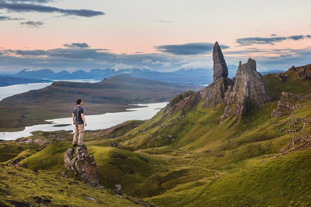 Scotland hiking
