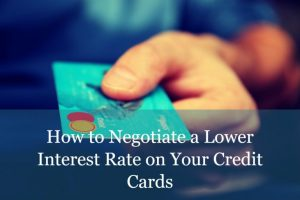 How to Negotiate a Better Credit Card Rate