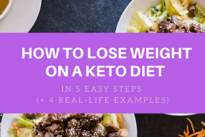 How to Maintain Your Health and Lose Weight on a Keto Diet