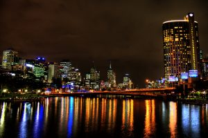 Melbourne – Merging with the Night