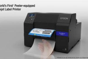 Improving Enterprise Label Printing Productivity with Epson ColorWorks CW-C6500 Color Label Printers